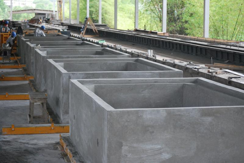 Aduelas de concreto pré moldado