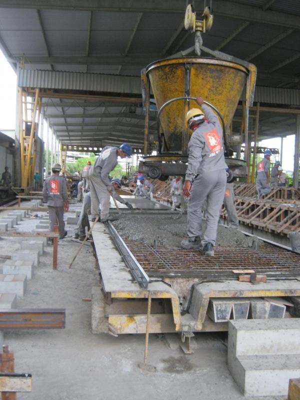 Empresa de estruturas pré fabricado