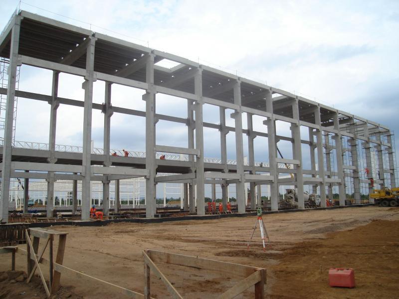 Estruturas pré fabricadas de concreto