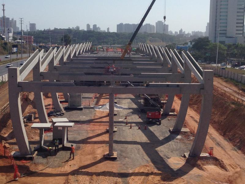Estruturas pré moldadas de concreto armado