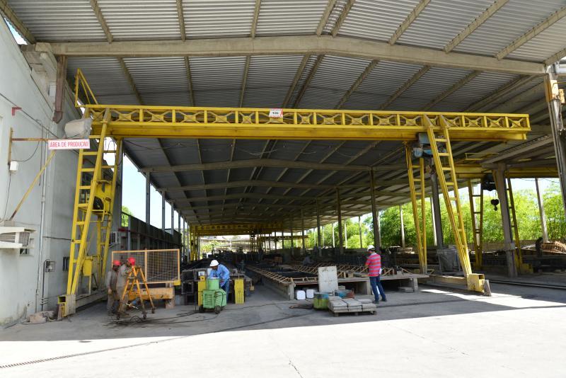 Fábrica de estruturas pré fabricados