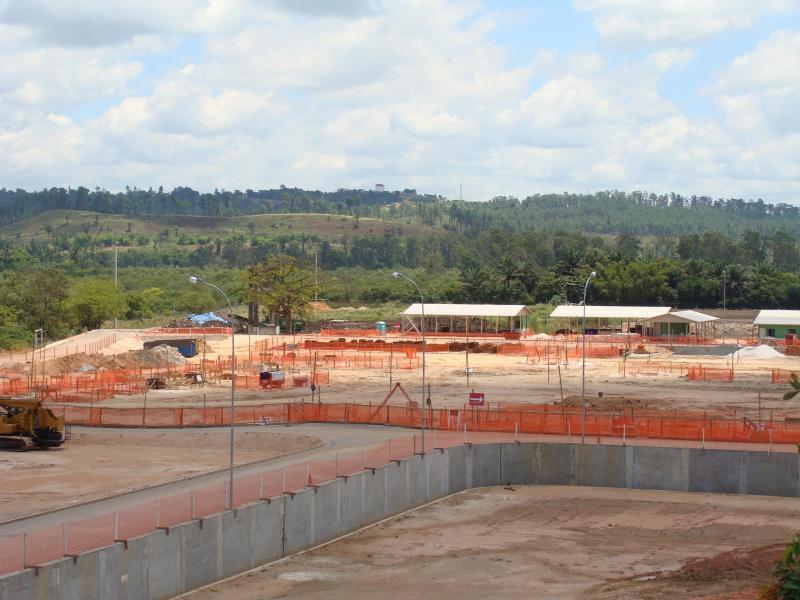 Muros de contenção pré fabricados