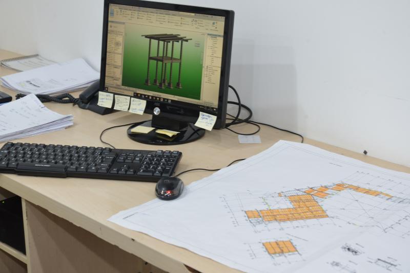 Projetos estrutura pré fabricadas