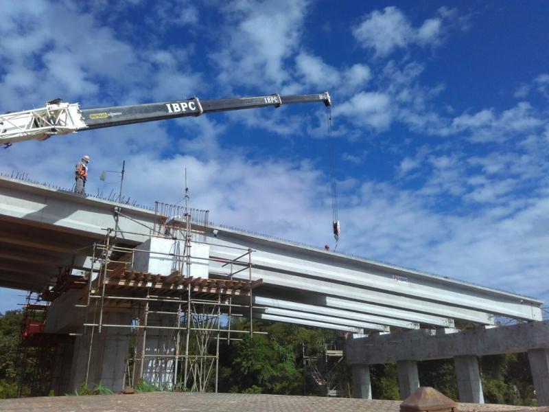 Vigas de concreto para pontes